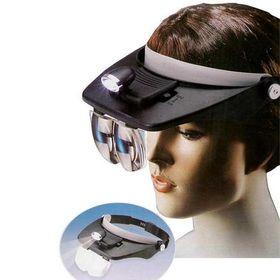 Φακός Κεφαλής με Μεγενθυτικούς Φακούς (Εργαλεία)