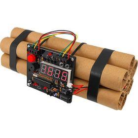 Ρολόι Ξυπνητήρι Βόμβα - Defuse a Bomb Digital Alarm Clock (Ρολόγια)