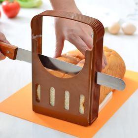 Βάση Κοπής Ψωμιού με Οδηγό για Εύκολα και Γρήγορα Ομοιόμορφες Φέτες Ψωμιού (Κουζίνα )
