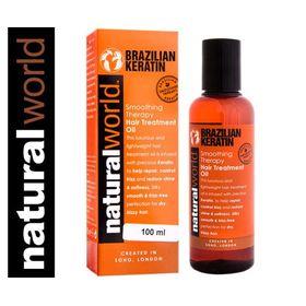 Λάδι με Κερατίνη για τα μαλλιά -Brazilian Keratin Oil (100 ml) (Ομορφιά)