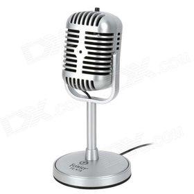 Ρετρό Mικρόφωνο Ηχογραφήσεων για PC (Ήχος & Εικόνα)
