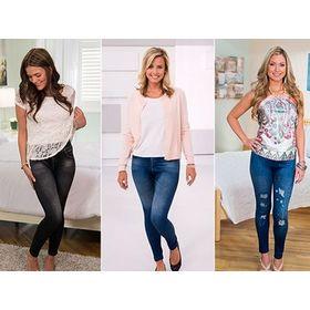 Τζιν Κολάν Slim 'N Lift Caresse Jeans (Μόδα)