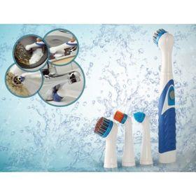 Ηλεκτρική Βούρτσα Καθαρισμού με 4 Περιστρεφόμενες Κεφαλές (Προϊόντα καθαρισμού)