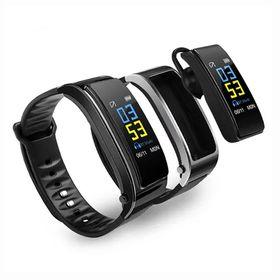 Έξυπνο ρολόι και ακουστικό Bluetooth 2 σε 1 με Καταγραφή Βημάτων, Πίεσης Αίματος, Καρδιακών Παλμών και Ύπνου Y3 (Τεχνολογία )