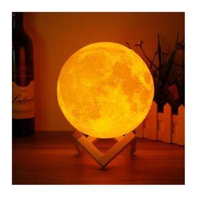 Ενσύρματη Λάμπα 3D σε Σχήμα Σελήνης (Φωτισμός)