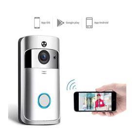 Ασύρματο Κουδούνι Πόρτας με Κάμερα EKN-V5-SL (Ασφάλεια & Παρακολούθηση)