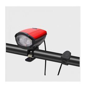 Φως & Κόρνα Ποδηλάτου με Micro-USB (Hobbies & Sports)