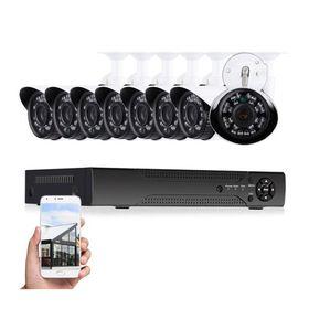 Πλήρες Έγχρωμο Σετ CCTV Καταγραφής με 8 Κάμερες Security Recording System (Ασφάλεια & Παρακολούθηση)