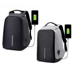 Αντικλεπτικό Σακίδιο Πλάτης με Θύρα USB (Μόδα)