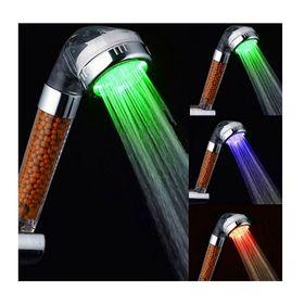 """Τηλέφωνο Ντουζιέρας """"Spa"""" με Φίλτρο Αρνητικών Ιόντων & Φωτισμό LED (Μπάνιο)"""