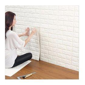Σετ Τρισδιάστατα Αυτοκόλλητα Τοίχου 77 x 70 cm 3D Foam Wall Sticker (Διακόσμηση σπιτιού)