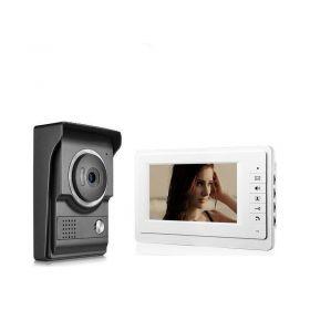 """Έγχρωμη Θυροτηλεόραση - Θυροτηλέφωνο με Μόνιτορ 7""""και Κάμερα Νυχτερινής 'Ορασης XSL-V70F-L (Ασφάλεια & Παρακολούθηση)"""