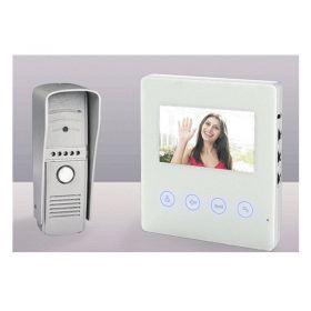 """Έγχρωμη Θυροτηλεόραση - Θυροτηλέφωνο με Μόνιτορ 4,3""""και Κάμερα Νυχτερινής 'Ορασης RL-A043H (Ασφάλεια & Παρακολούθηση)"""