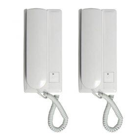 Σετ Συστήματος Ενσύρματης Ενδοεπικοινωνίας RL-209 (Ασφάλεια & Παρακολούθηση)