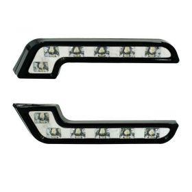 Φώτα Ημέρας Αυτοκινήτου LED 6x1 Σετ 2 Τεμάχια (Αυτοκίνητο - Μηχανή - Σκάφος)