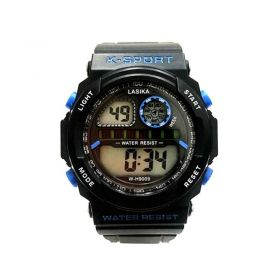 Αδιάβροχο Ρολόι με Ψηφιακό Χρονογράφο S-Sport 9009 ()