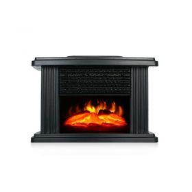 Mini Τζάκι Αερόθερμο με Εφέ Φλόγας–Flame Heater 1000W (Ψύξη - Θέρμανση)