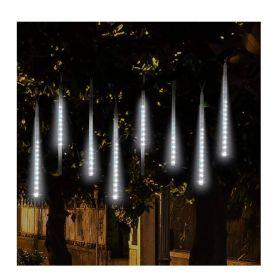 Διακοσμητικός Φωτισμός LED με Εφέ Βροχή Χρώματος Λευκό Ψυχρό OEM (Εποχιακά)