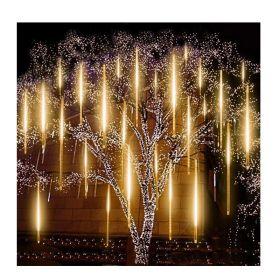 Διακοσμητικός Φωτισμός LED με Εφέ Βροχή Χρώματος Λευκό Ζεστό OEM (Εποχιακά)