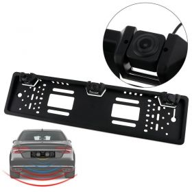 Πλαίσιο Πινακίδας με Αισθητήρες Παρκαρίσματος & Κάμερα Οπισθοπορείας Νυχτερινής Λήψης (Αυτοκίνητο - Μηχανή - Σκάφος)