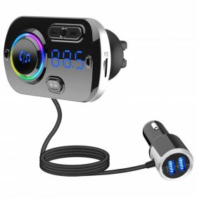 Φορτιστής Αυτοκινήτου USB, με MicroSD MP3 Player, FM Transmitter, και Λειτουργία Hands-Free (Αξεσουάρ αυτοκινήτου)