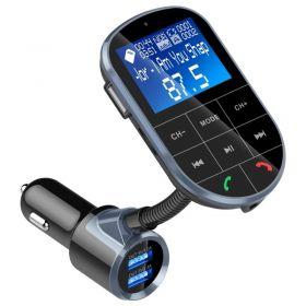 Πομπός Bluetooth USB/microSD MP3 Player, FM Transmitter, Hands-free και Φορτιστής Αυτοκινήτου BC37 (Αξεσουάρ αυτοκινήτου)