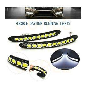 Σετ Εύκαμπτα Φώτα Ημέρας Αυτοκινήτου COD LED - 2 Τεμάχια (Αξεσουάρ αυτοκινήτου)