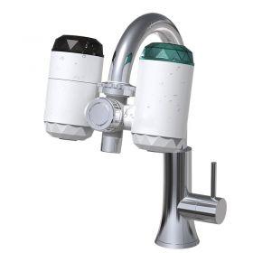 Ηλεκτρικός Ταχυθερμαντήρας Βρύσης με Φίλτρο Καθαρισμού 2 σε 1 (Ηλεκτρολογικά - Υδραυλικά)