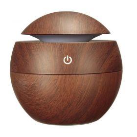 Ξύλινο Στρογγυλό Αποσμητικό Χώρου Ultrasonic Aroma Humidifier OEM (Διακόσμηση σπιτιού)
