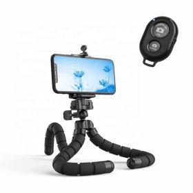 Εύκαμπτο Τρίποδο για Κινητά και Κάμερες με Bluetooth Χειριστήριο Ezra ST-04 (Ήχος & Εικόνα)