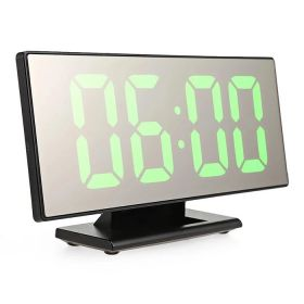 Εντυπωσιακό Ψηφιακό Επιτραπέζιο Ρολόι/Ξυπνητήρι με Μεγάλη Οθόνη Καθρέφτη (Ρολόγια)