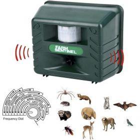 Απωθητικό Υπερήχων Για Ζώα, Πτηνά & Τρωκτικά Με Αισθητήρα Κίνησης (Είδη Κήπου)