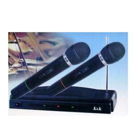 Ασύρματο Σύστημα 2 Μικροφώνων ΑΤ-306 (Ήχος & Εικόνα)