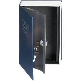 Βιβλίο Χρηματοκιβώτιο Ασφαλείας με Κλειδί Χρώμα Μπλε  - Book Safe Dictionary 265 x 200 x 65mm (Ασφάλεια & Παρακολούθηση)