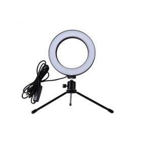 Επαγγελματικό Φωτογραφικό Φωτιστικό Δαχτυλίδι 16cm (Ήχος & Εικόνα)