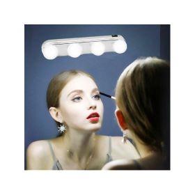 Φορητό Φωτιστικό Μπάρα με 4 LED για Καθρέπτη Μακιγιάζ με Βεντούζες (Φωτισμός)