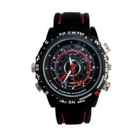 Κρυφή Κάμερα Κατασκοπευτικό Ρολόι-Spy Cam HD-DVR Watch 8GB (Ασφάλεια & Παρακολούθηση)