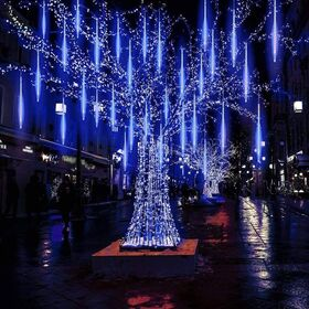 Διακοσμητικός Φωτισμός LED Βροχή - Μπλε (Εποχιακά)