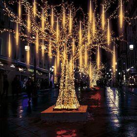Διακοσμητικός Φωτισμός LED Βροχή - Λευκό Ζεστό (Εποχιακά)