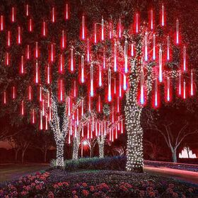 Διακοσμητικός Φωτισμός LED Βροχή - Κόκκινο (Εποχιακά)