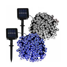 Ηλιακά Λαμπάκια 100 LED Εξωτερικού Χώρου (Εποχιακά)
