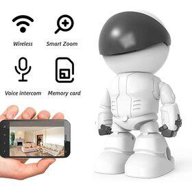 Ρομπότ Κάμερα Παρακολούθησης Χώρου WiFi με Χειρισμό Γωνίας Λήψης (Ασφάλεια & Παρακολούθηση)