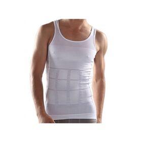 Αόρατη Ανδρική Φανέλα Lastex Σύσφιξης Κοιλιάς και Αδυνατίσματος Χρώματος Λευκό Slim N Lift (Υγεία & Ευεξία)