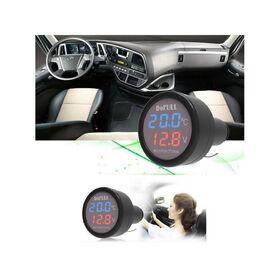 Βολτόμετρο Θερμόμετρο Αυτοκινήτου με Θύρα Φόρτισης USB 2.1A (Αξεσουάρ αυτοκινήτου)