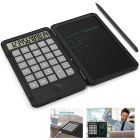 Σημειωματάριο LCD 6,5' με Αριθμομηχανή 2 σε 1 (Hobbies & Sports)