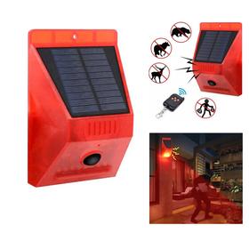 Ηλιακός Συναγερμός 129 dB με Τηλεχειριστήριο, και Φωτισμό Ειδοποίησης (Ασφάλεια & Παρακολούθηση)