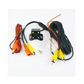 Αδιάβροχη Κάμερα Οπισθοπορείας με Νυχτερινή Λειτουργία 4 LED (Αξεσουάρ αυτοκινήτου)