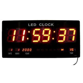 Ψηφιακή Πινακίδα LED - Ρολόι με Θερμόμετρο και Ημερολόγιο JH-4622 (Ρολόγια)
