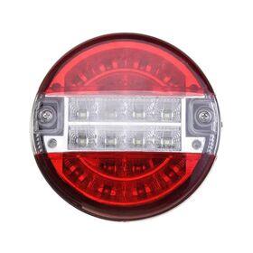 Στρογγυλό Πίσω Φανάρι Led για Φορτηγά και Τρέιλερ 12/24v Unistar II OEM (Αξεσουάρ αυτοκινήτου)