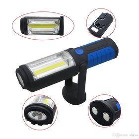 Eπαναφορτιζόμενος Φακός COB LED με Φορτιστή - Power bank (Φωτισμός)